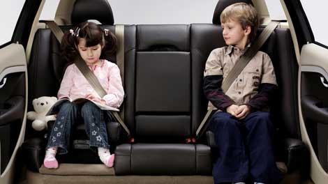 30 років впровадження вбудованої подушки безпеки для дітей