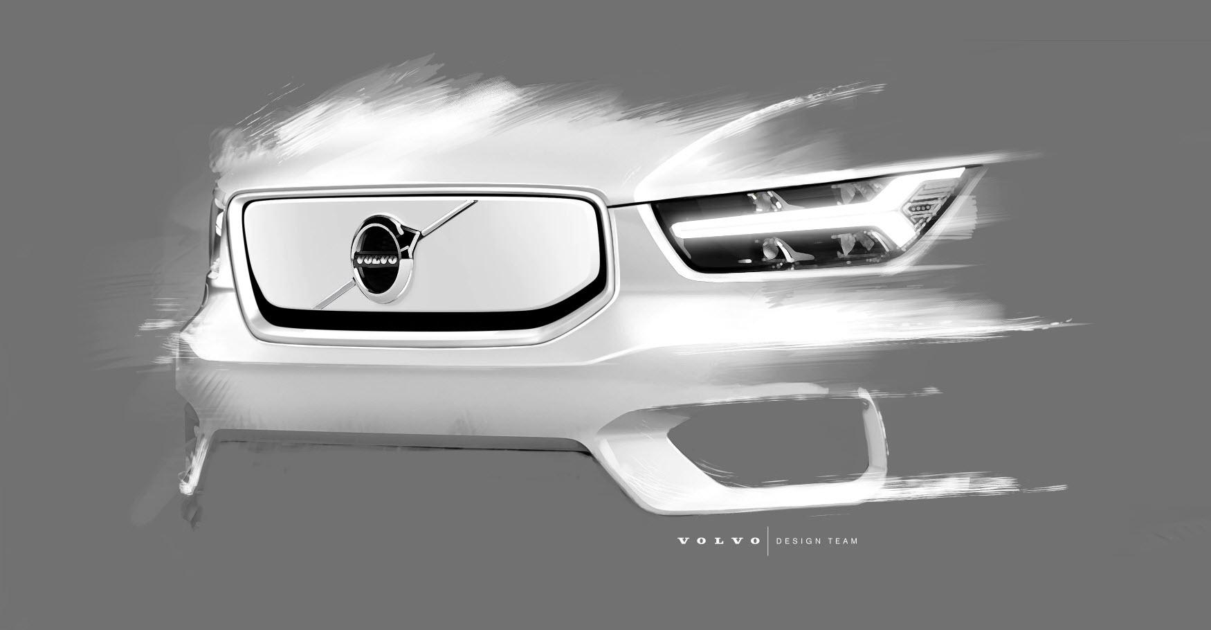 Повністю електричний кросовер Volvo XC40