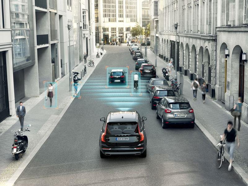 Трирівнева система безпеки Volvo